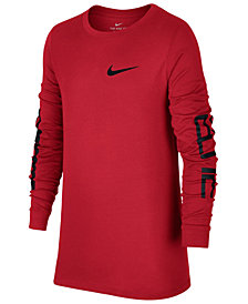 Nike Dri-FIT Elite Basketball T-Shirt, Big Boys