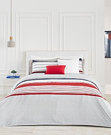 Lacoste Home Auckland Red Comforter Sets
