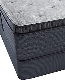 Beautyrest Platinum Chestnut Hill 15 Luxury Plush Pillow Top World Class Mattress Set Twin