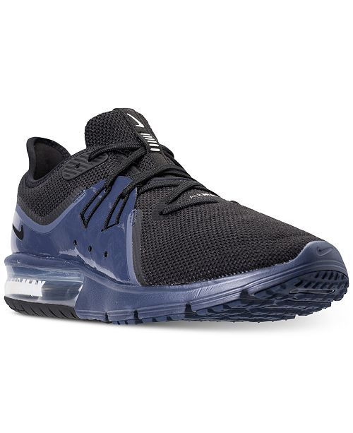 Nike Men s Air Max Sequent 3 SE Running Sneakers from Finish Line ... 1d76b921897c