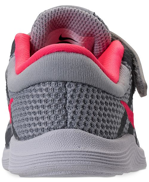 1ce9f6ca70576 Nike Toddler Girls' Revolution 4 Athletic Sneakers from Finish Line ...