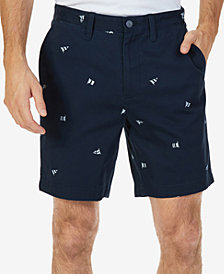 Nautica Men's Big & Tall Printed Shorts