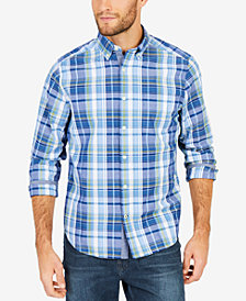Nautica Men's Tide Plaid Shirt