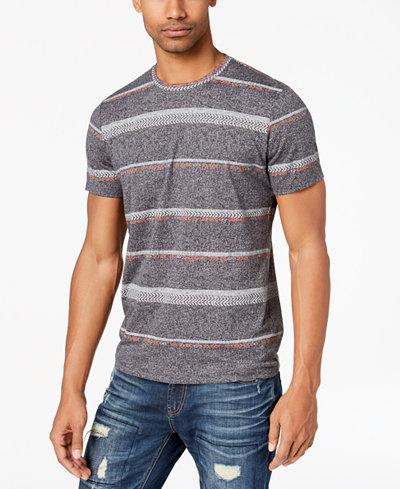 American Rag Men's Geometric Stripe T-Shirt, Created for Macy's