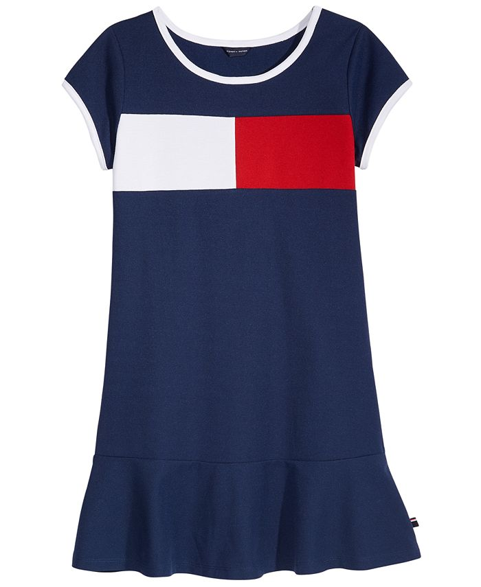 Tommy Hilfiger - Logo Pique Dress, Big Girls (7-16)