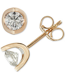 Diamond Tension Stud Earrings (1 ct. t.w.)