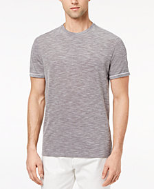 Ryan Seacrest Distinction™ Men's Slim-Fit Gray Heathered T-Shirt, Created for Macy's