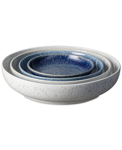 Denby Studio Craft Blue 4-Pc. Nesting Bowl Set
