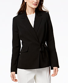 Nine West Tie-Front Jacket