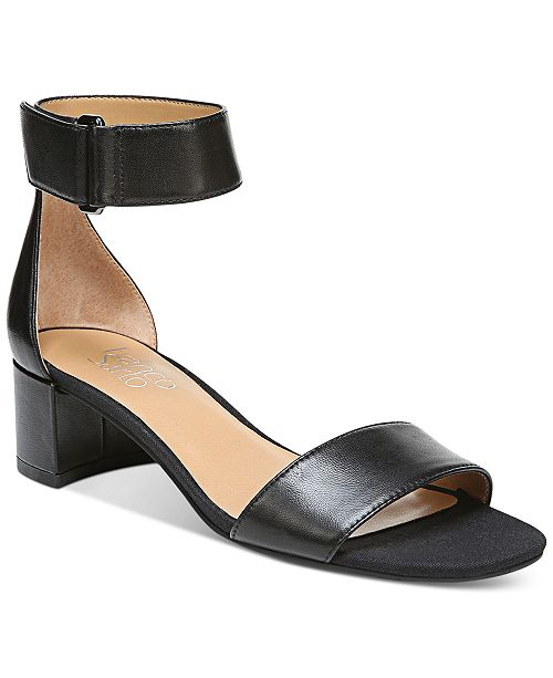 15da6f42a Franco Sarto Rosalina Two-Piece Block-Heel Dress Sandals   Reviews ...