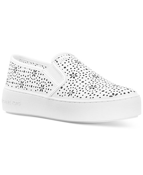 5231dd610820e Michael Kors Trent Slip-On Sneakers   Reviews - Sneakers - Shoes ...