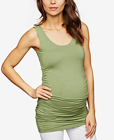 Isabella Oliver Maternity Ruched Tank Top
