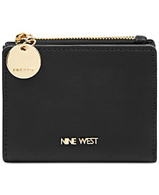 Nine West Slim Wallet with Zipper