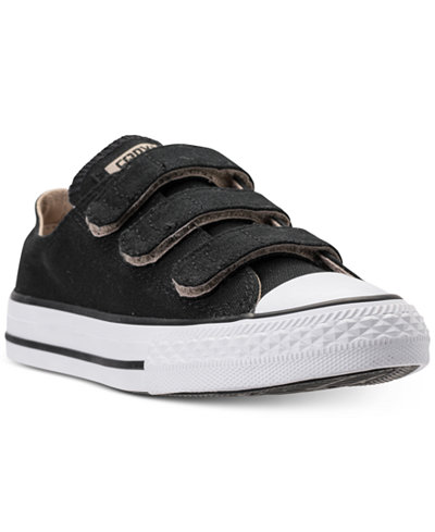 Converse Preschool Boys' Chuck Taylor Ox Stay-Put Closure Casual Sneakers from Finish Line