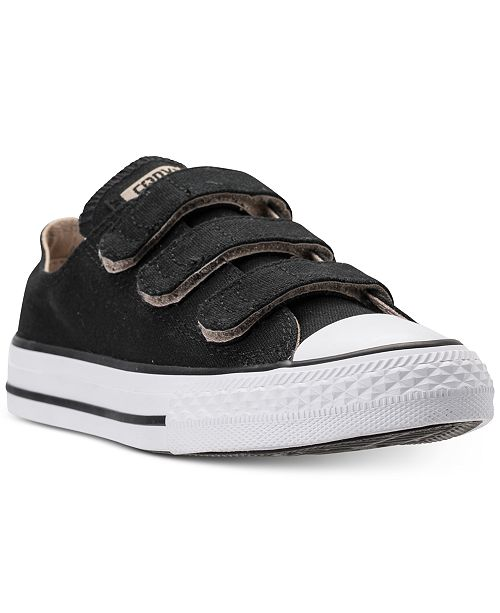 bb43f9262437 ... Converse Preschool Boys  Chuck Taylor Ox Stay-Put Closure Casual  Sneakers from Finish Line ...