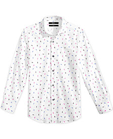 DKNY Empire Printed Shirt, Big Boys