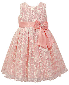Jayne Copeland Pleated Lace Dress, Toddler Girls