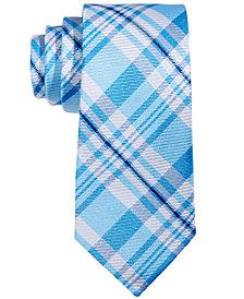 Lauren Ralph Lauren Plaid Silk Neck Tie, Big Boys