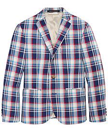 Lauren Ralph Lauren Madras Sport Coat, Big Boys