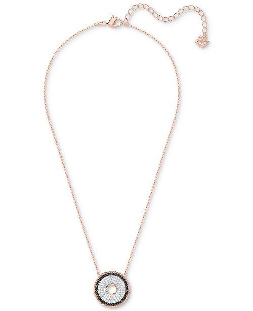 17245d05c Swarovski Rose Gold-Tone Circle 15-3/4