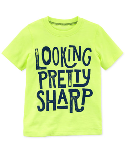 Carter's Graphic-Print T-Shirt, Little Boys