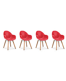 Canten Dining Chair (Set Of 4), Quick Ship
