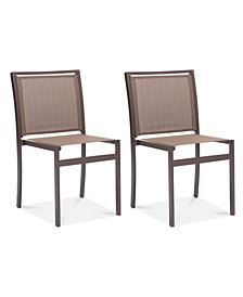 Symons Outdoor Dining Chair (Set Of 2), Quick Ship