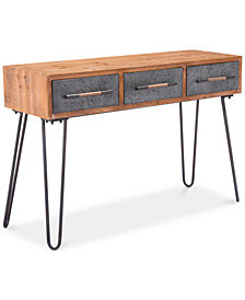 Lynam Console Table, Quick Ship