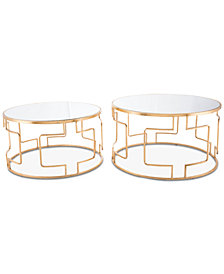 King End Table (Set Of 2), Quick Ship