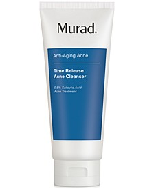 Anti-Aging Acne Time Release Acne Cleanser, 6.75-oz.