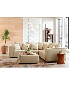 Rainshire Performance Fabric Modular Furniture Collection, Created for Macy's