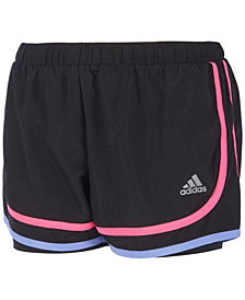 adidas Relay Race Shorts, Little Girls