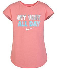 Nike Graphic-Print T-Shirt, Little Girls