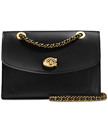 COACH Parker Small Shoulder Bag in Refined Leather
