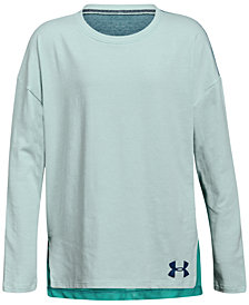 Under Armour Charged Cotton® Finale Shirt, Big Girls