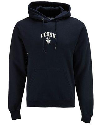 Champion Men's Connecticut Huskies Arch Logo Hoodie