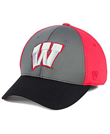 Top of the World Wisconsin Badgers Division Stretch Cap