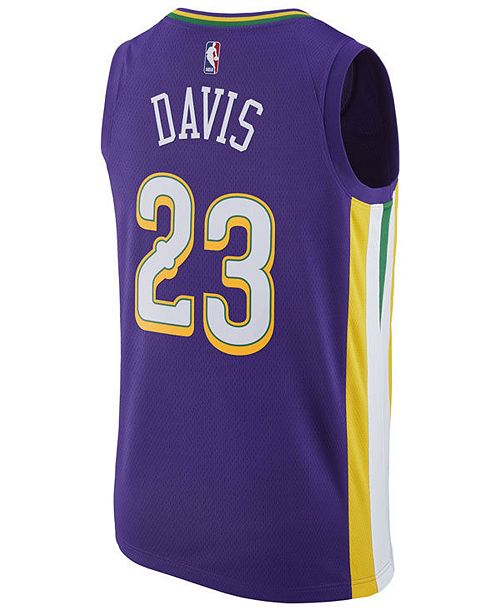 newest 91a5c e5f69 adidas Men's Anthony Davis New Orleans Pelicans City ...