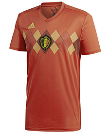 adidas Men's Belgium Soccer National Team Home Stadium Jersey