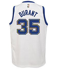 Outerstuff Kevin Durant Golden State Warriors Hardwood Classic Swingman Jersey, Big Boys (8-20)