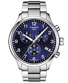 Men's Swiss Chronograph Chrono XL Classic T-Sport Stainless Steel Bracelet Watch 45mm
