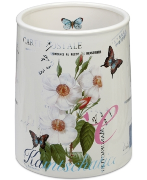 Creative Bath Botanical Wastebasket Bedding