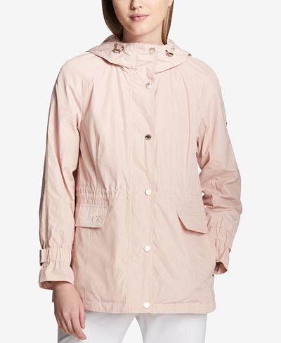 Calvin Klein Hooded Utility Jacket