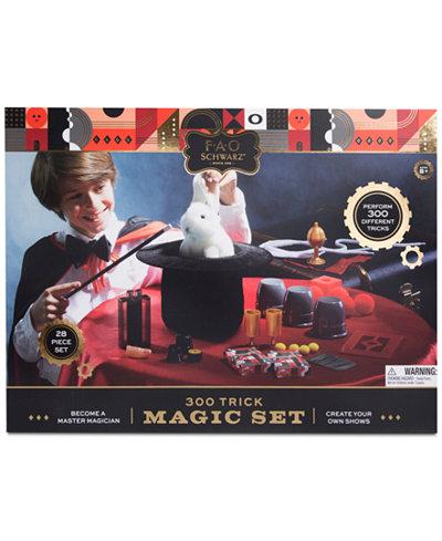 FAO Schwarz 28-Pc. Toy Kids Magic Kit