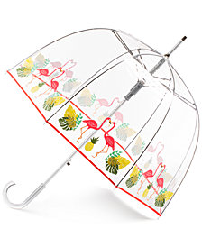 Totes Auto-Open Clear Bubble Umbrella