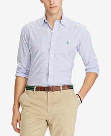 Polo Ralph Lauren Men's Slim-Fit Gingham Shirt
