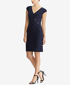 Lauren Ralph Lauren Pleated Slim Fit Dress
