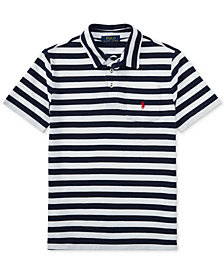 Ralph Lauren Striped Cotton Polo Shirt, Big Boys