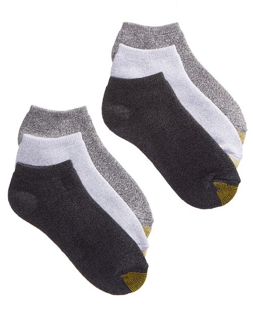 Women S Ankle Cushion No Show 6 Pack Socks Also Available In Extended Sizes