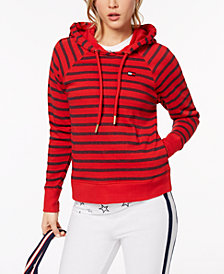 Tommy Hilfiger Sport Striped Hoodie, Created for Macy's